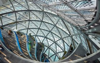 Astana Expo 2017 Sphere building -inside