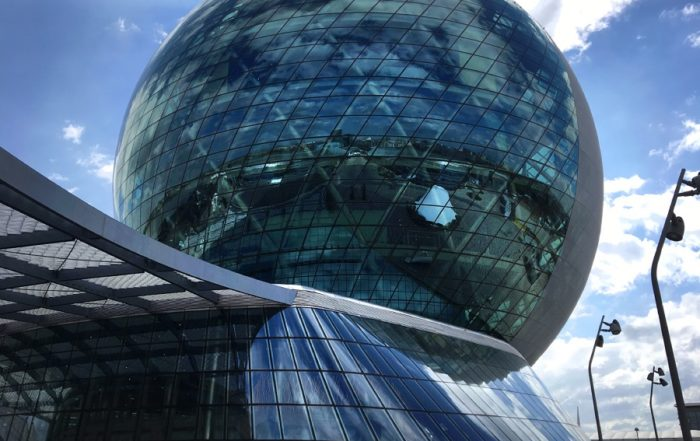 Astana Expo 2017 Sphere building -outside