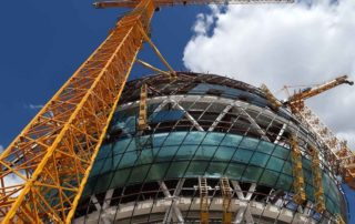 Astana Expo 2017 Sphere building -under construction