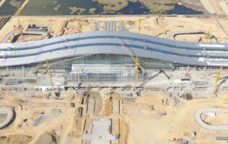 Astana New Railway Station -under construction