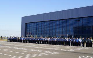 Kazakhstan National Defense University exterior wall PVDF aluminum sheet