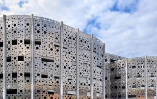 aluminum perforated panels for exterior wall decorative
