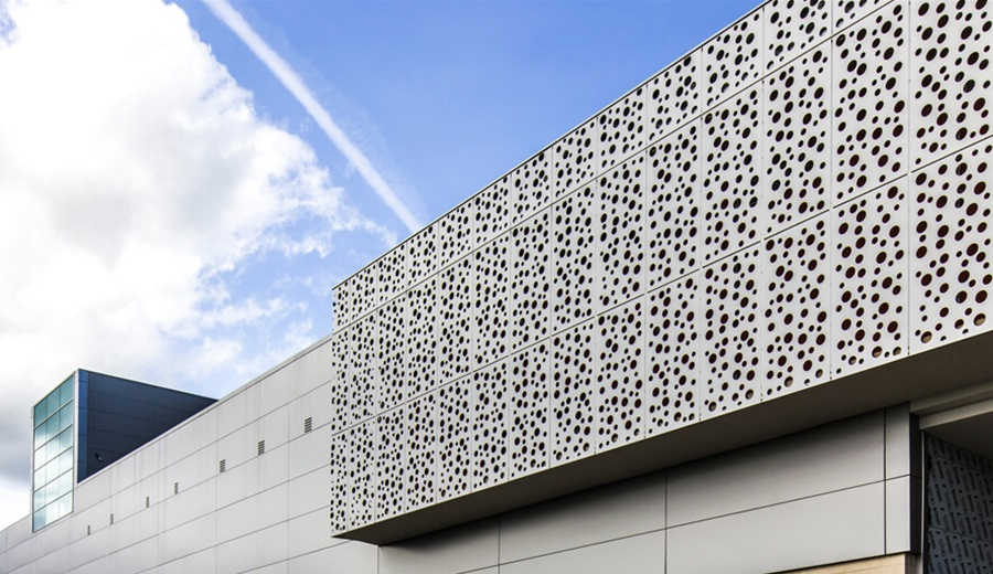 Aluminum Perforated Panels For Exterior Wall
