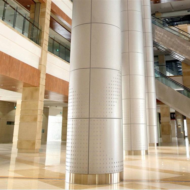 Aluminum Column Cladding : Aluminum wall panels for column covers arrow dragon