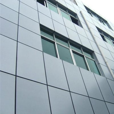 aluminum wall panels for exterior facade construction