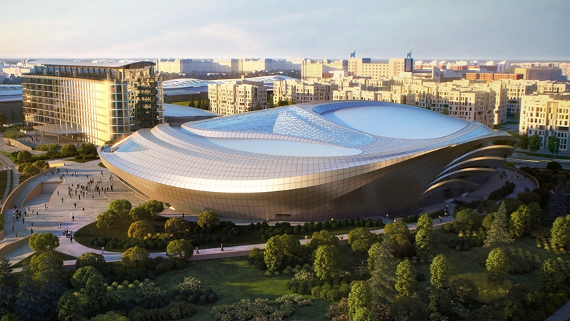 New Congress Center in Astana