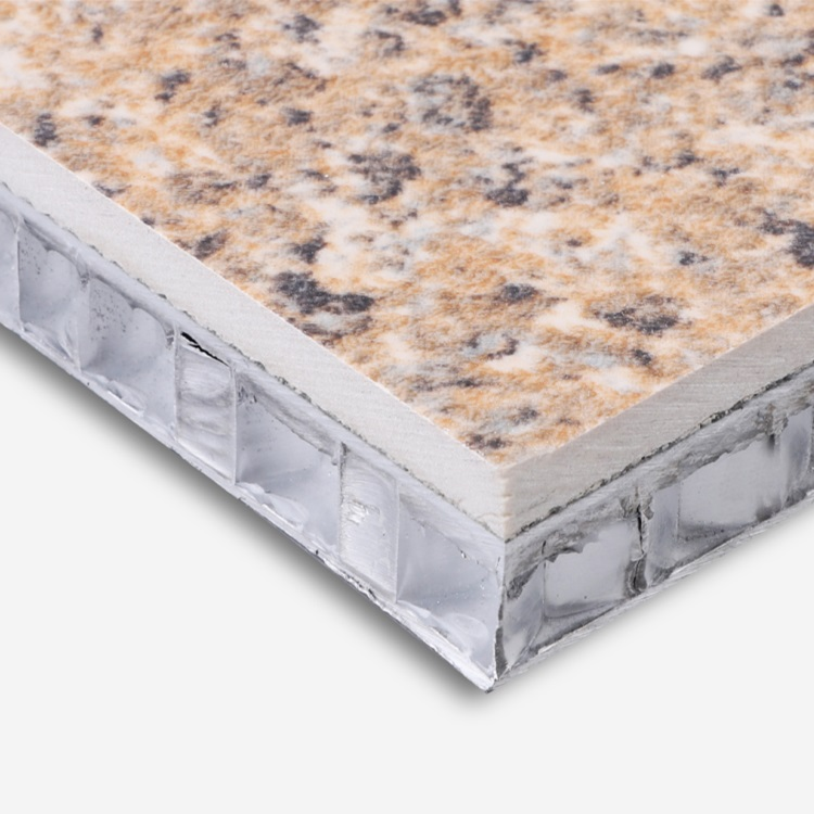 stone veneer aluminum honeycomb panels -moorstone