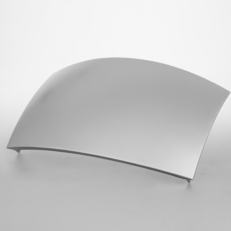 aluminum double curved panels