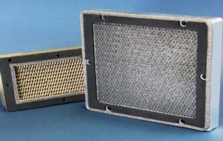 aluminum honeycomb core for air vents