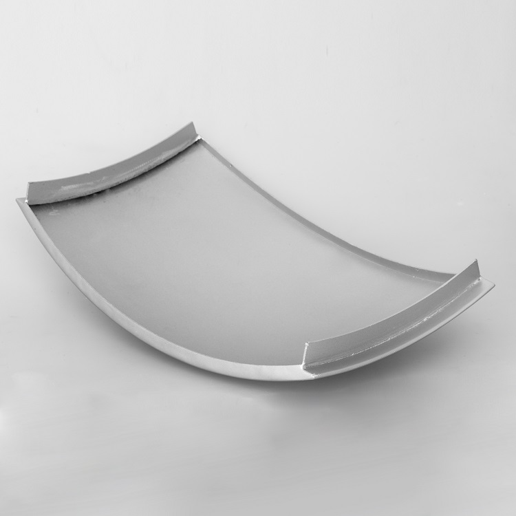 double curved architectural metal panel for decoration
