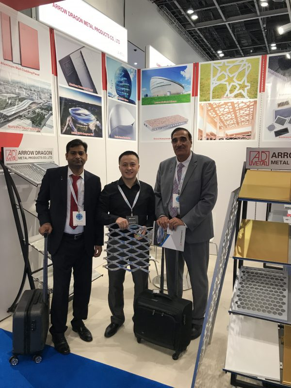Kuwait EIC management visit us in 2018 Dubai BIG 5