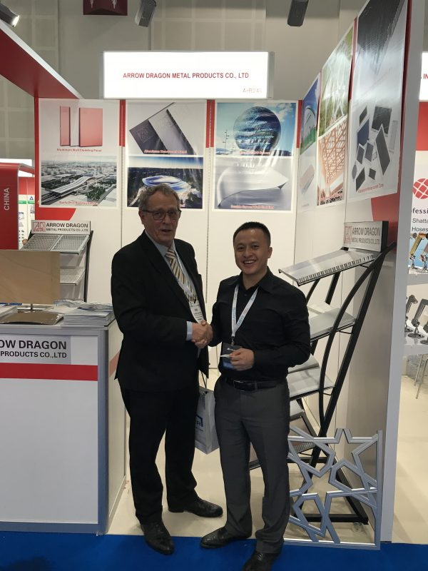 Mr. Bjorn Ostbye from Lulu Group visit our stand in 2018 Dubai BIG 5 exhibition